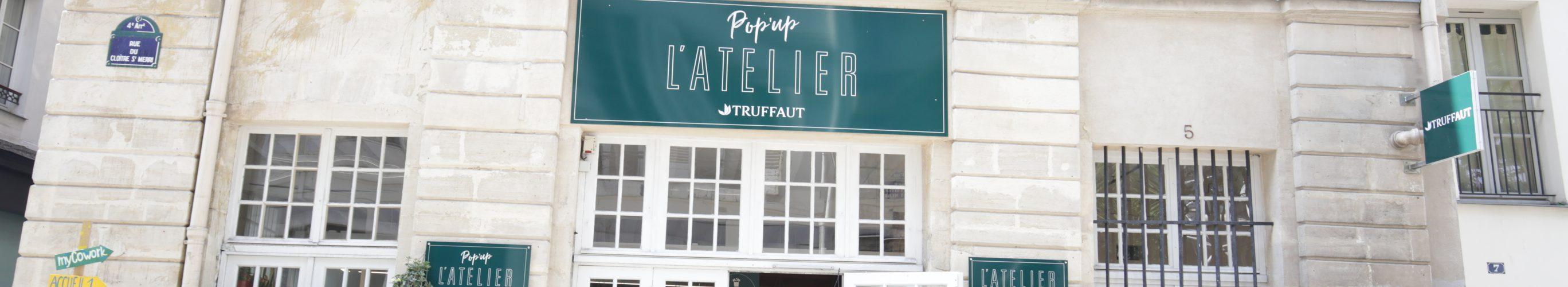 Pop-up store truffaut